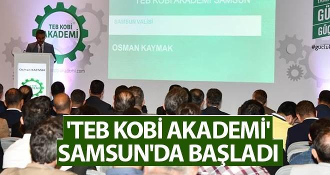 'TEB Kobi Akademi' Samsun'da Başladı