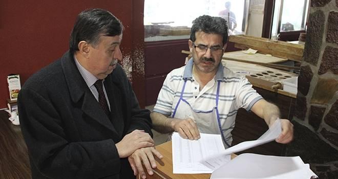 Havza'da Muhtarlık Bölgesi Askı Listeleri Askıya Çıktı