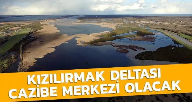 Kızılırmak Deltası Turizm Ve Cazibe Merkezi Olacak