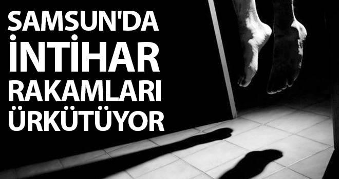 Samsun'da intihar rakamları ürkütüyor