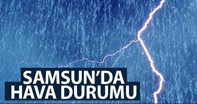 8 Ağustos Samsun'da Hava Durumu