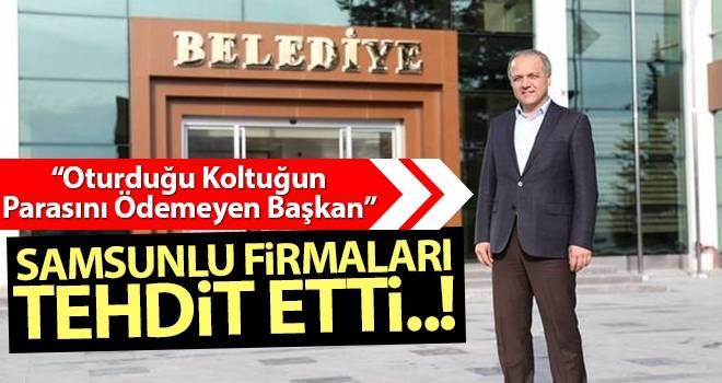Suluova Belediyesi Samsunlu Firmaları Mağdur Etti!