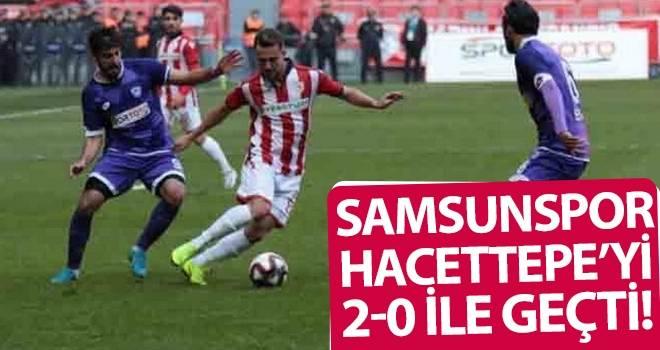 Samsunspor, Hacettepe'yi 2-0 İle Geçti!