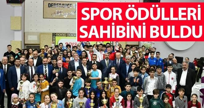 İlkadım'da 2018 Yılı Spor Ödülleri Töreni Düzenlendi