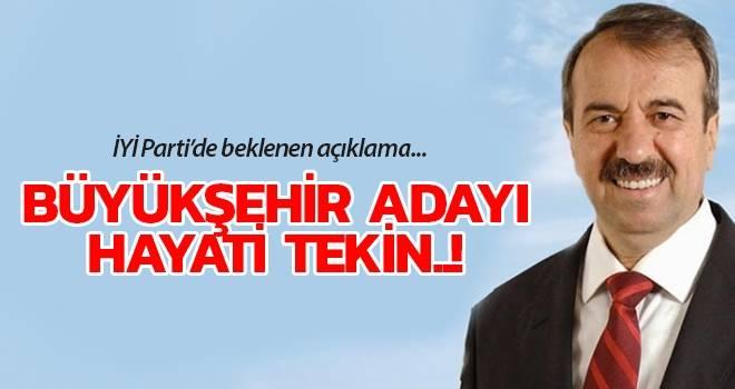 Millet İttifakı'nın Samsun Büyükşehir Adayı Hayati Tekin..!