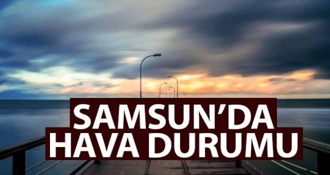 30 Nisan Samsun'da Hava Durumu