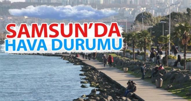 7 Ekim Samsun'da Hava Durumu