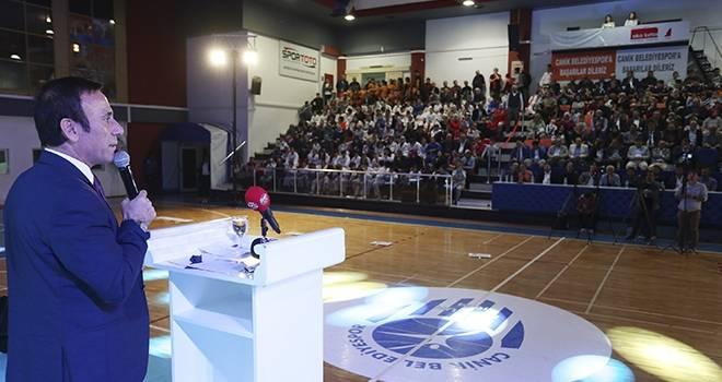 Samsun Canik Belediye Spor Sezonu Açtı
