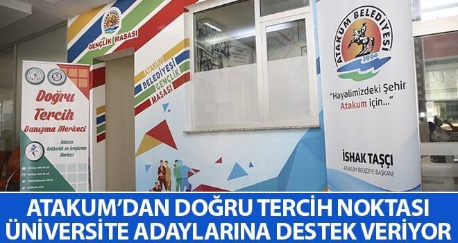 Atakum'dan doğru tercih noktası Üniversite adaylarına destek veriyor