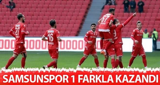 Samsunspor 1 Farkla Kazandı