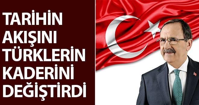 Başkan Zihni Şahin'den 18 Mart mesajı  'Çanakkale Ruhu Yaşıyor!..'