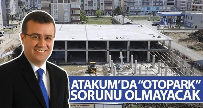 """Başkan Taşçı: Atakum'da """"otopark"""" sorunu olmayacak"""