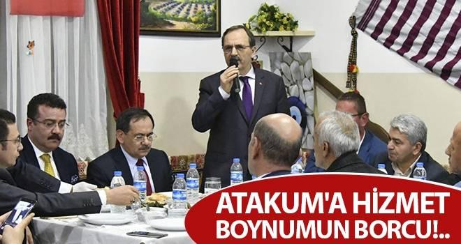 Zihni Şahin: Atakum'a hizmet boynumun borcu!..