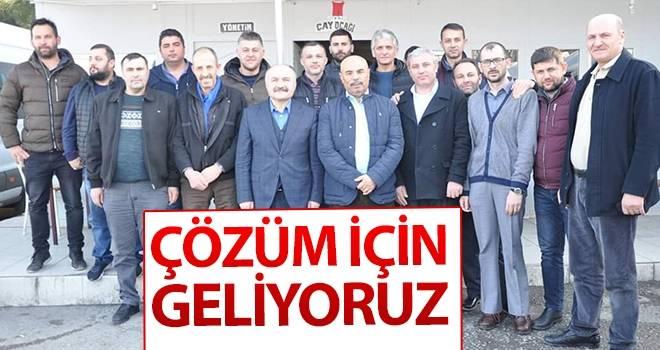 Erhan Usta: Çözüm için geliyoruz