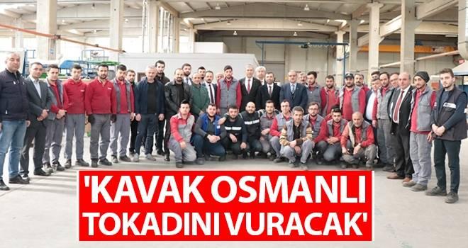'Kavak Osmanlı Tokadını Vuracak'