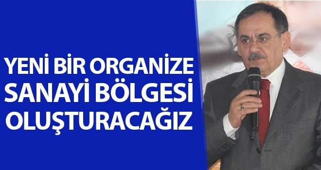 Mustafa Demir: 'Yeni bir organize sanayi bölgesi oluşturacağız'