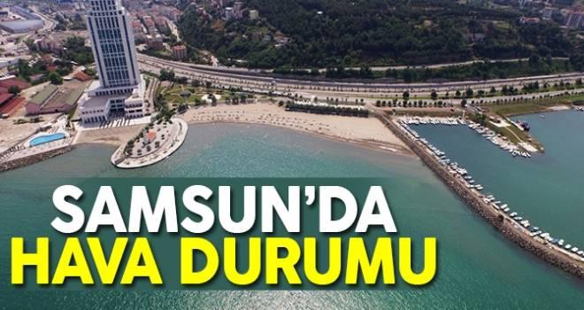 19 Ağustos Samsun'da Hava Durumu
