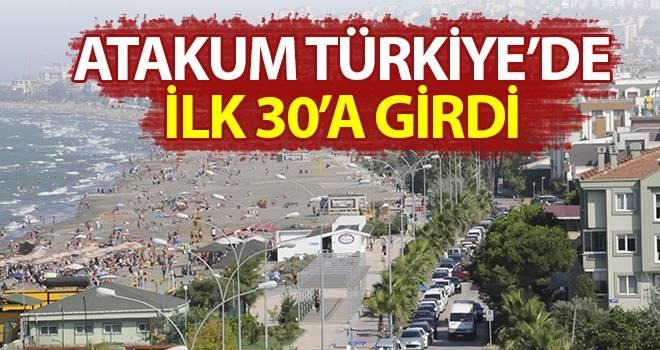 Türkiye'nin ilk 30 ilçesinde; Karadeniz'den tek 'ATAKUM' var…