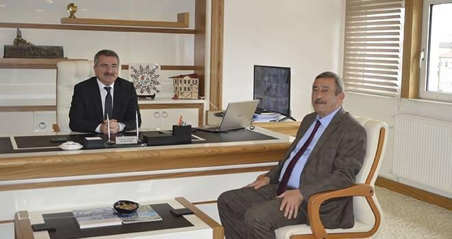 Amasya Şeker'den Başkan Özdemir'e Ziyaret