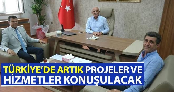 """Milletvekili Yılmaz, """"Türkiye'de artık projeler ve hizmetler konuşulacak"""""""