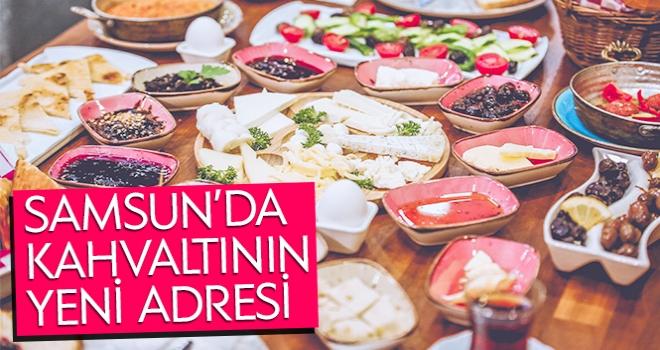 Samsun'da Kahvaltının Yeni Adresi
