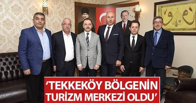 Başkan Togar: Tekkeköy Bölgenin Turizm Merkezi Oldu