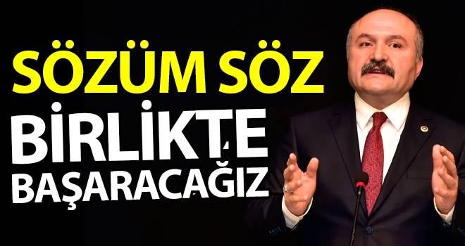 Erhan Usta: Birlikte Başaracağız
