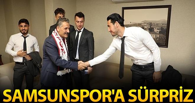 Samsunspor'a Sürpriz