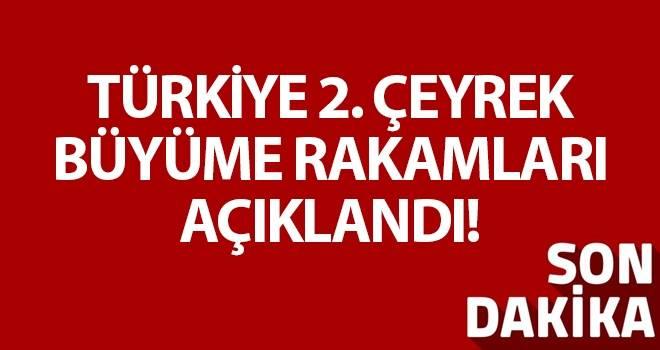 Türkiye ekonomisi yılın ikinci çeyreğinde yüzde 5,2 büyüdü